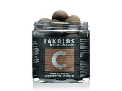 C - DARK & COFFEE CHOC COATED LIQUORICE